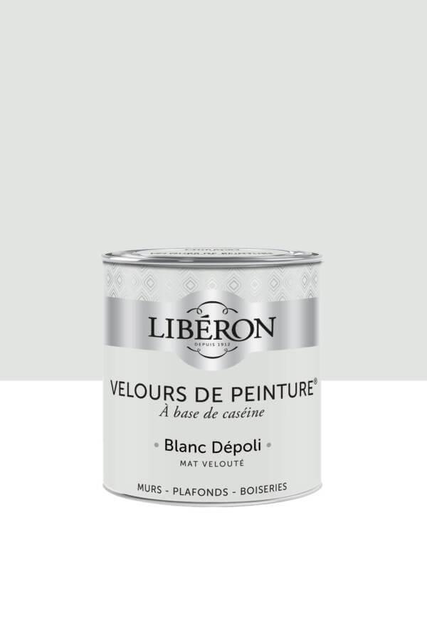 Peinture-Velours-0,5L-Blanc-depoli