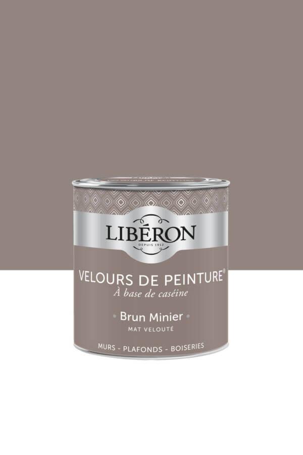 Peinture-Velours-0,5L-Brun-minier