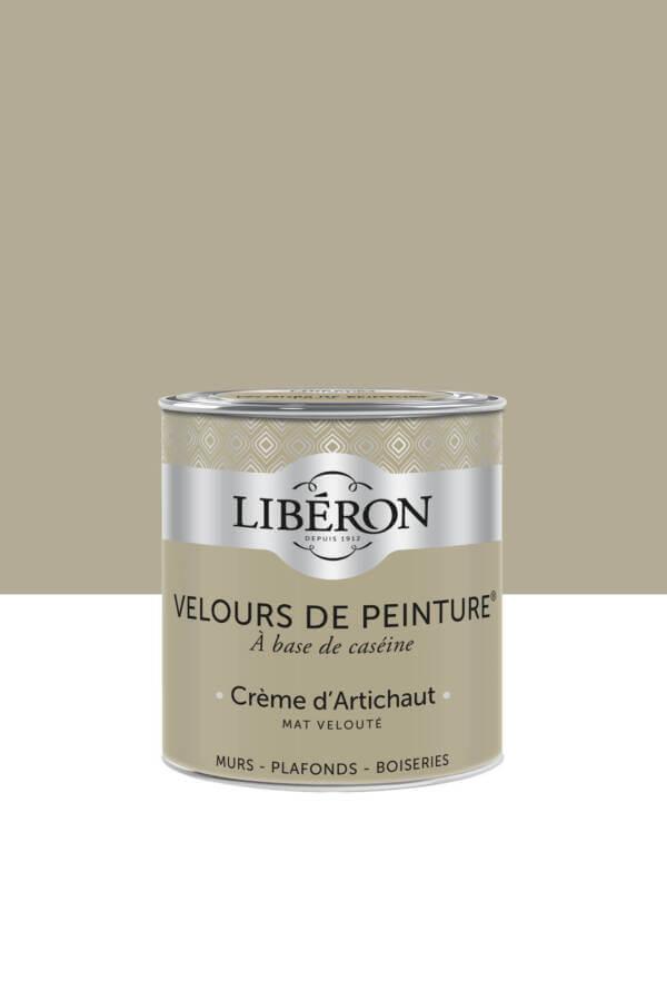 Peinture-Velours-0,5L-Creme-d-Artichaud