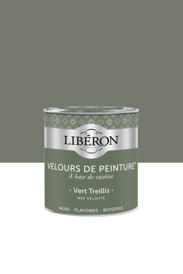 Peinture-Velours-0,5L-Vert-treillis