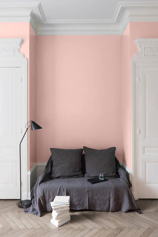 peinture-murale-Rose-Froufrou
