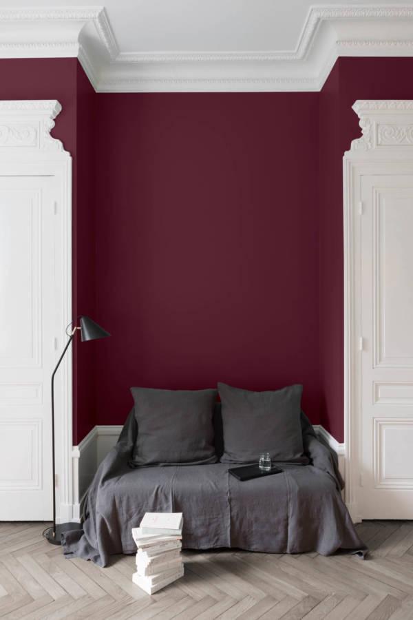 peinture-murale-Rouge-Cardinal