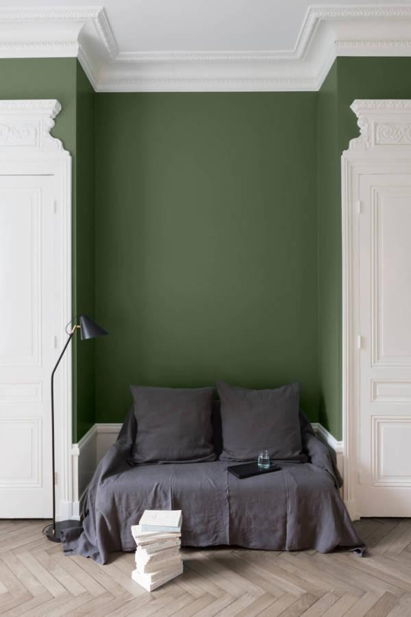 peinture-murale-Vert-Treillis